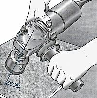 Алмазные сверла вакуумного спекания (крепление M14)